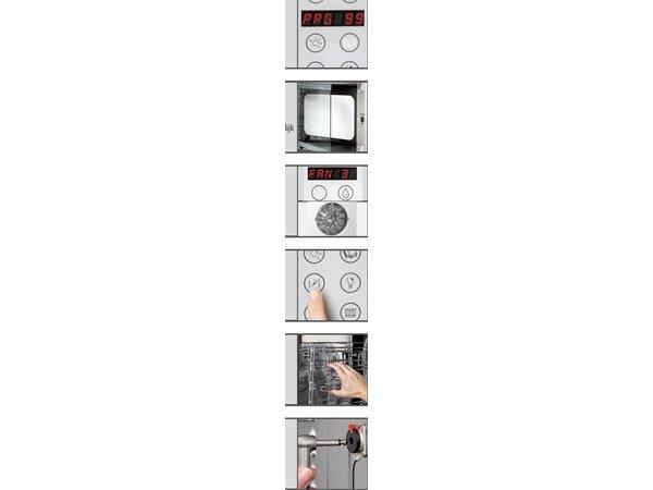 Bartscher Elektrische combi-steamer E 7110 tot 7 x 1/1 GN