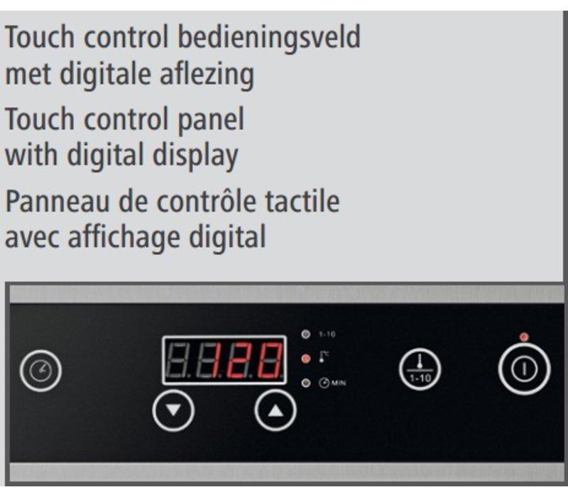 Bartscher Inductie-kookplaat IK 35S - 34x44,5x(h)11,5 - 3500W/230V