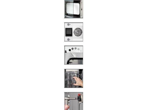 Bartscher Elektrische combi-steamer M 5110 tot 5 x 1/1 GN