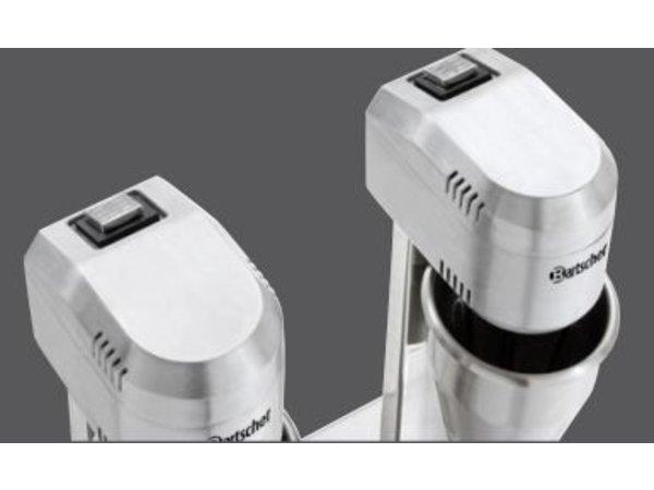 Bartscher Dubbele Barmixer / Milkshaker Turbo - 2 x 700 ml