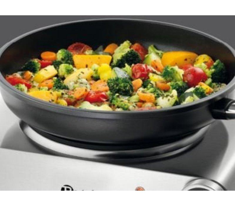 Bartscher Kookplaat Elektrisch | 1 Plaat | RVS | 305x245x(H)85mm