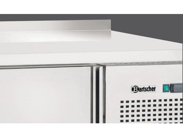 Bartscher Koelwerkbank - RVS - 2 deurs en 2 lades - 179x70x(h)85cm - Met Spatrand