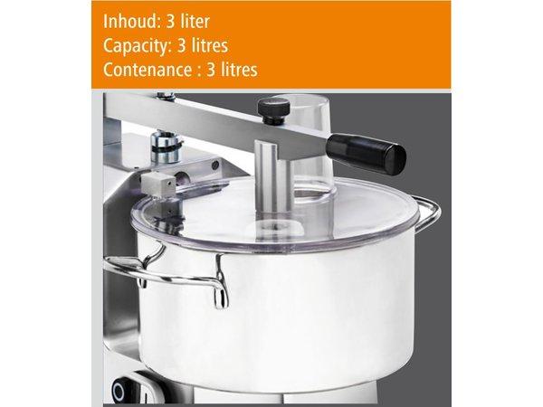 Bartscher Snijmachine - RVS - 3 liter