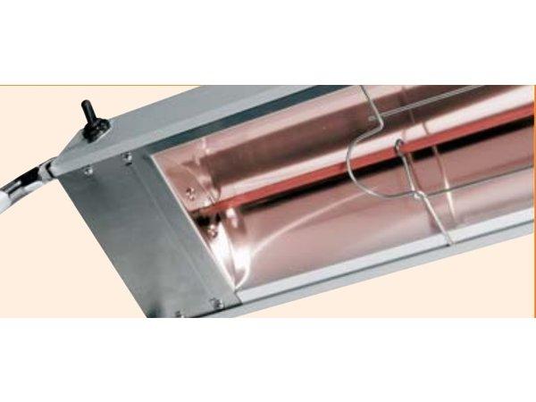 Bartscher Infrarood Warmtebrug - 1220mm - 1,10 kW / 1 NAC 230 V