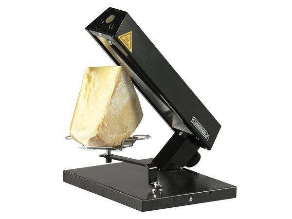 Casselin Raclette Apparaat / Verwarmde Kaashouder   Voor Kwart Ronde Kaas   0,6kW   242x285x333(h)mm