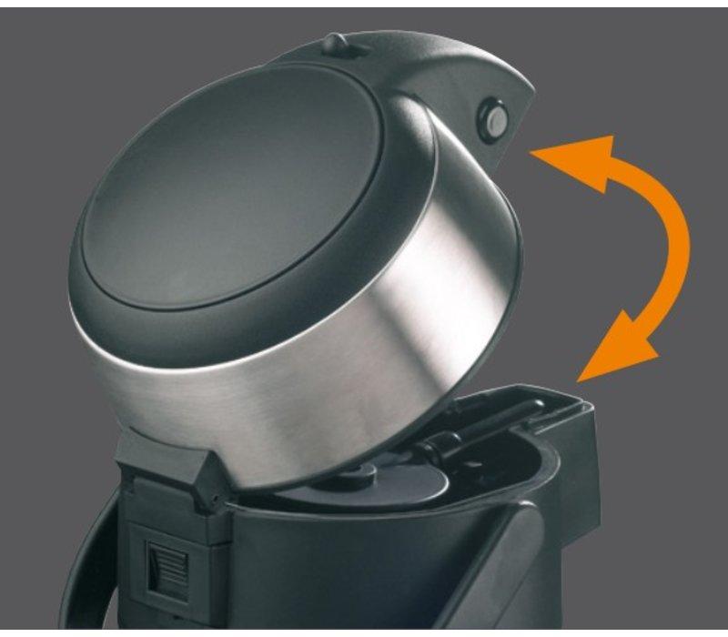 Bartscher Isoleerkan met pompsysteem - 2,5 liter