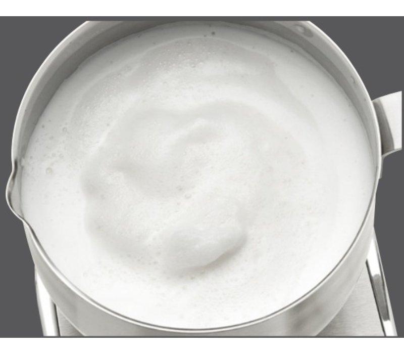 Bartscher Melkopschuimer Inductie | Edelstaal | 600W | 125x150x(H)180mm