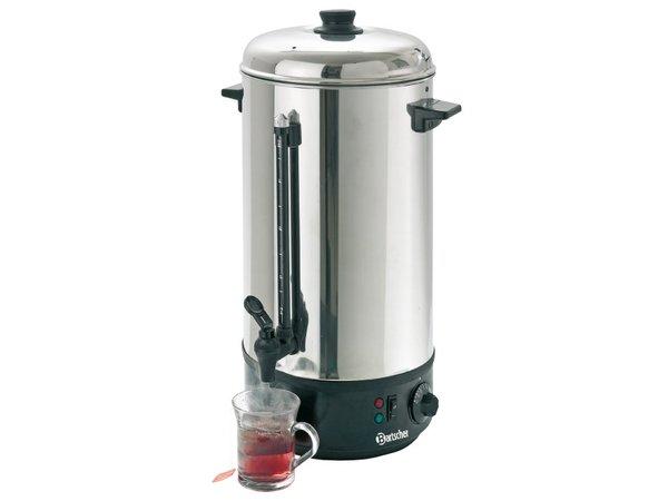 Bartscher Heet water verdeler / Gluhwein ketel | Vulstandindicator | Ø213 mm | 10 Liter
