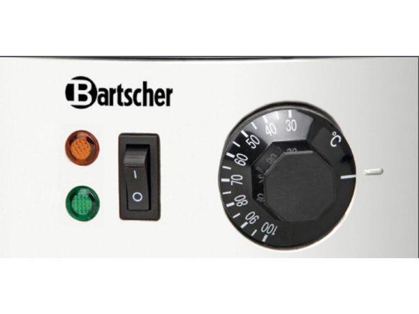 Bartscher RVS Gluhwein ketel / Warmwaterdispenser | Ø395 mm | Tapkraan | 28 liter