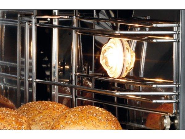 Bartscher Heteluchtoven |Stoomfunctie|Wateraansluiting|Binnenverlichting| 600x720x(H)540mm