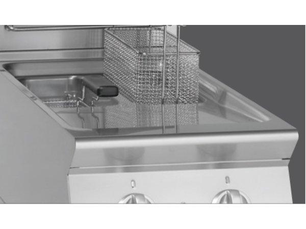 Bartscher Friteuse   Elektrisch   2 x 8 Liter   400V   14kW   Met Onderstel   400x700x(h)850mm