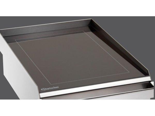Bartscher Elektrische Grillplaat - Glad - 42x60x(h)17cm - 2,5kW