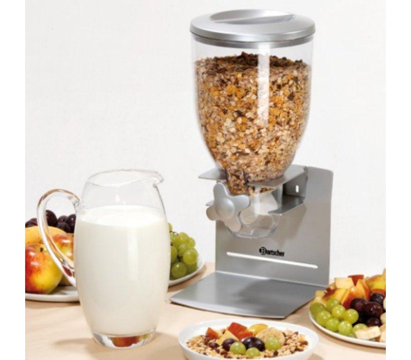 Bartscher Verdeler voor Ontbijtgranen | Kunststof | 3,5 Liter | 180x170x(H)395mm