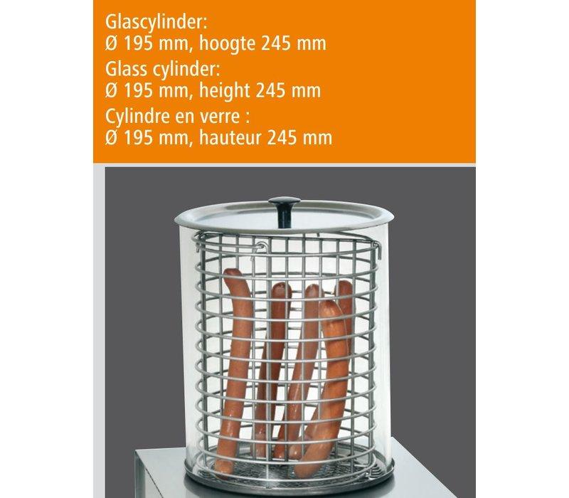 Bartscher Elektrische Hotdog Koker - 260x295x(H)360mm