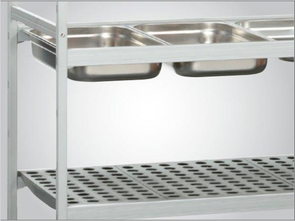 Bartscher Opbergsysteem - 1500x360x1800 mm