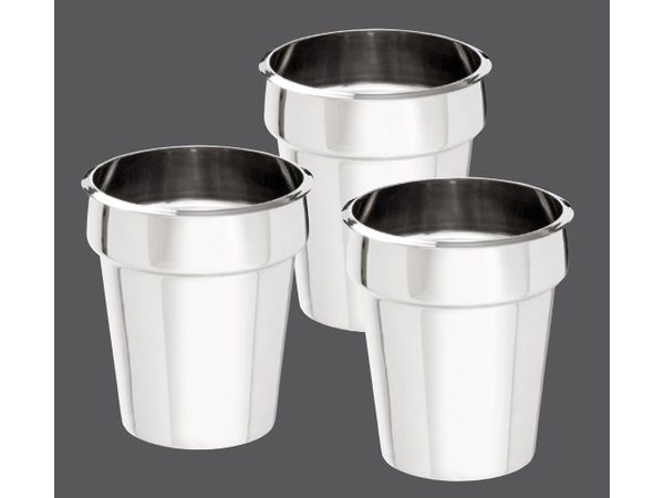 Bartscher Hotpot Bain-Marie   3x3,5 Liter   RVS   0,45kW   610x210x(H)320mm