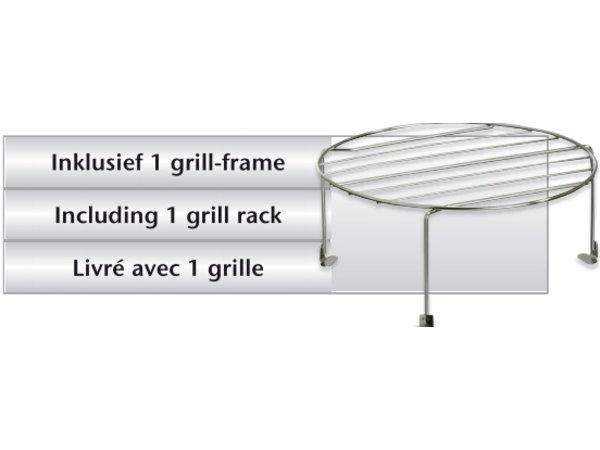 Bartscher Magnetron met grill - 900W - 23 liter