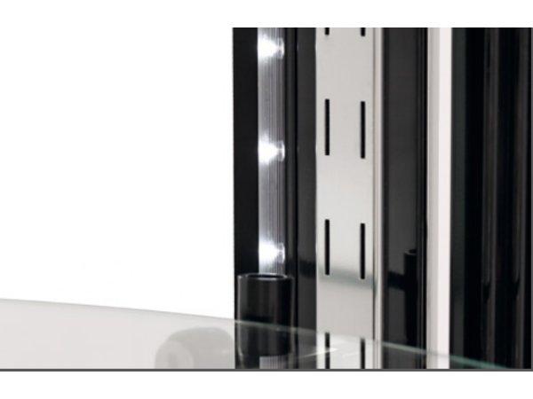 Bartscher Gebaksvitrine Luchtgekoeld | LED Verlichting | 400 Liter | Ø680x(H)1750mm