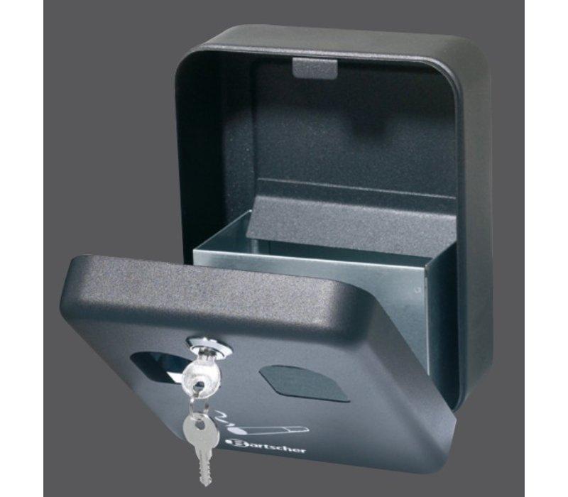 Bartscher Wandasbak van Staalblik | 1 liter | Eenvoudig te Legen | 160x90x(h)200mm