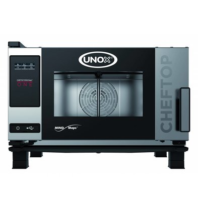 Unox Combisteamer One Electric Combi Oven | XEVC-0311-E1R | 3 x GN 1/1 | 230 | 750x773x538 (h) mm