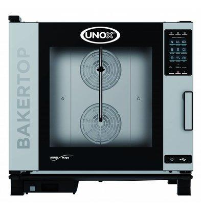Unox Combisteamer Plus Electric Combi Oven | XEBC-06EU-EPR | 6 x 600x400mm | 400V | 860x957x843 (h) mm