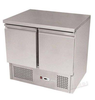 Hendi Saladette SS - Machine Bottom - 2 Doors - 900x700x (h) 850 mm