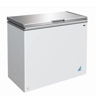 Combisteel Stainless steel Freezer - 201 Litres - 95x55x (h) 81cm
