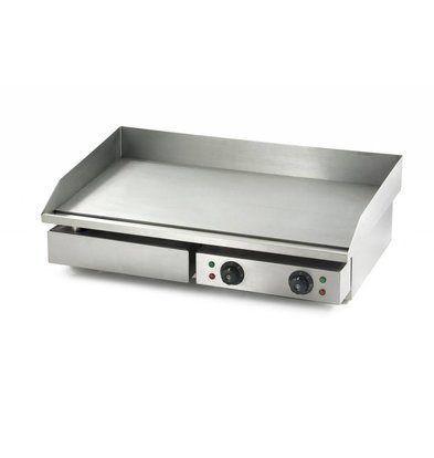 Combisteel Electric griddle - 73x51x (h) 23cm - 3,5kW