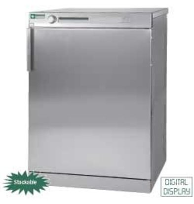 Diamond Hotel Dryer 7 kg stainless steel - 400v - 595x595x (H) 850mm