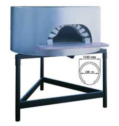 Diamond Pizza Houtoven - 1300mm - 6/7 pizzas Ø 300mm - Ø 1540x(h)1050mm
