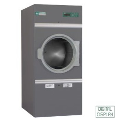 Diamond Hotel Dryer 10kg stainless steel - 30 programs - 400v - 791x707x (h) 1760mm