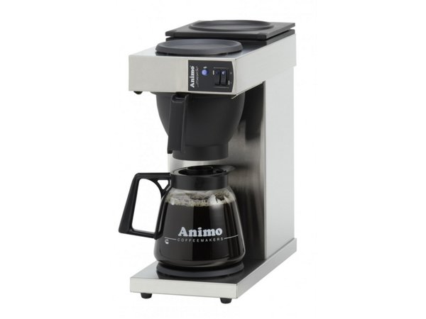 Animo Koffiezetapparaat Animo | 10380 | Excelso | Inc Glazen Kan 1,8 Liter | 2250W | 190x370x(h)580mm