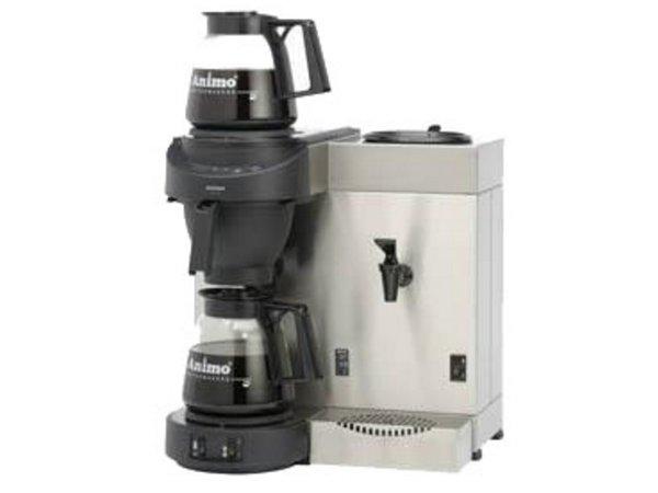 Animo Duo Koffiezetapparaat en Heewaterdispenser Animo Vaste Wateraansluiting | 10557 | M200W