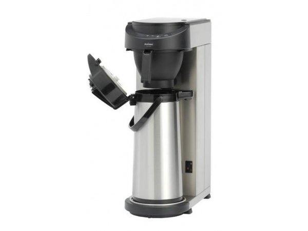 Animo Koffiezetapparaat RVS Animo Vaste Wateraansluiting | 10572 | MT200 |Exc Thermoskan 2,1 Liter | 2100W