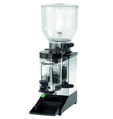 Bartscher Koffiemolen model Space II | RVS Frame | Instelbare Dosering | 200x390x(H)600mm