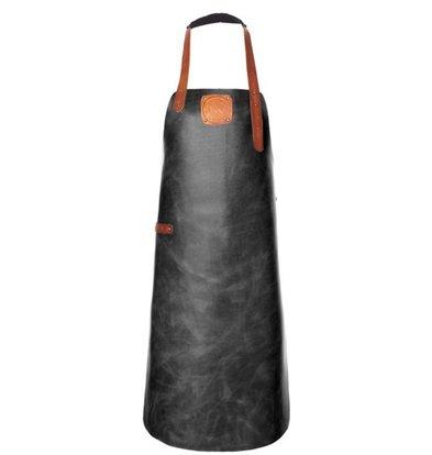 Witloft Leren Schort Witloft | Apron Regular Black / Cognac | WL-ARB-01 | Male | XLarge 100(L)x75(b)cm