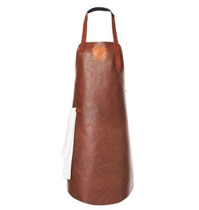 Witloft Leren Schort Witloft | Apron Regular Cognac / Cognac | WL-ARB-06 | Male | XLarge 100(L)x75(b)cm