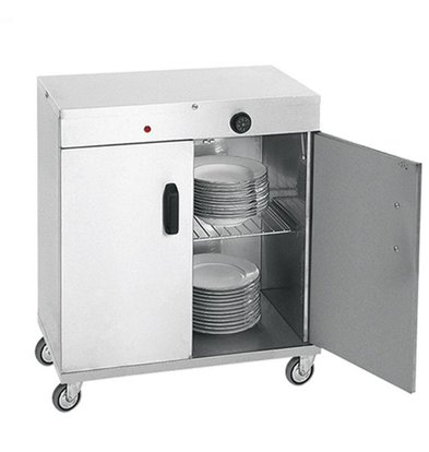 XXLselect Bordenwarmer voor 80 Borden - 1000W - 72x44x(h)80cm