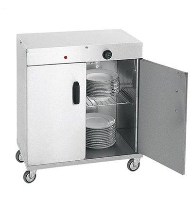 XXLselect Plate warmer for 80 plates - 1000W - 72x44x (h) 80cm