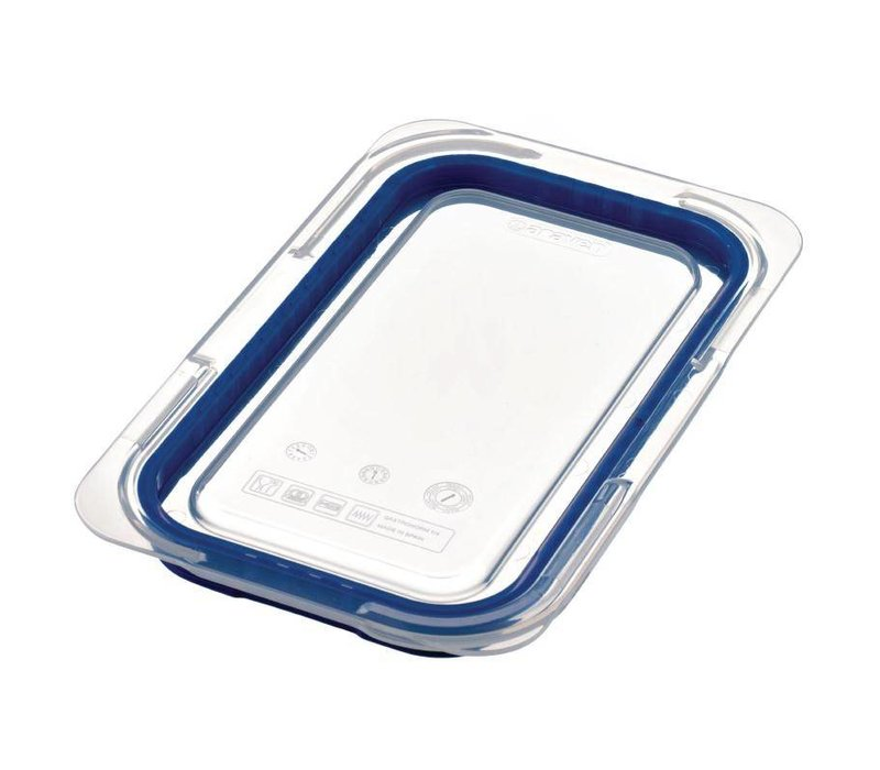 Araven Deksel Blauw ABS - GN1/4
