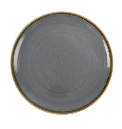 "Olympia Coupebord ""Kiln"" | Blue Porcelain | Ø280mm | Per 4 Pieces"