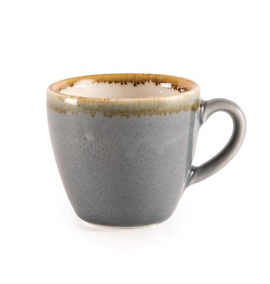 "Olympia Espressokopje ""Kiln"" |Blauw Porselein | 85ml | Per 6 Stuks"