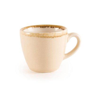 "Olympia Espressokopje ""Kiln"" | Zandsteen Porselein | 85ml | Per 6 Stuks"