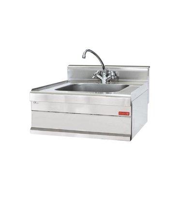 Gastro M Wasbak RVS   Incl. Mengkraan   650x700x280(h)mm