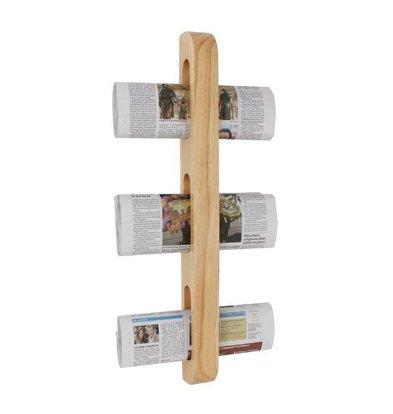 Olympia Tijdschrift/Kranten Rek   Hout   45x70x605(h)mm