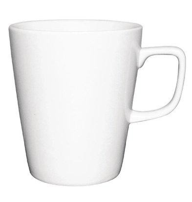 Athena Hotelware Athena Latte Mok | 397ml | Wit Porselein | Verpakt per 12