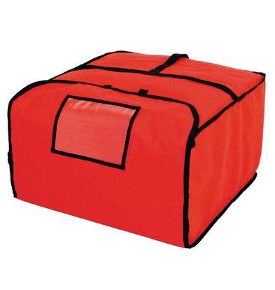 Vogue Pizza Transport Tas | Polyester | Isolatie Dikte 18mm | 500x500x300mm