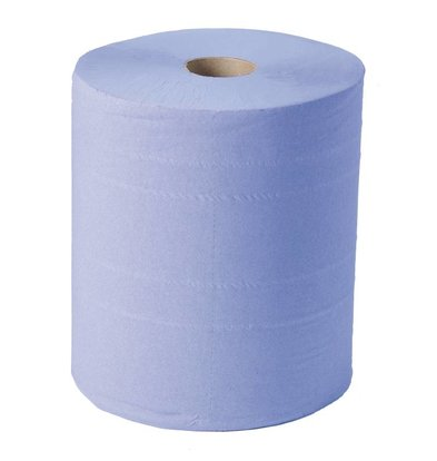 Jantex Toiletpapier Blauw Maxi | 2-Laags | 288m x 230mm | Verpakt per 2
