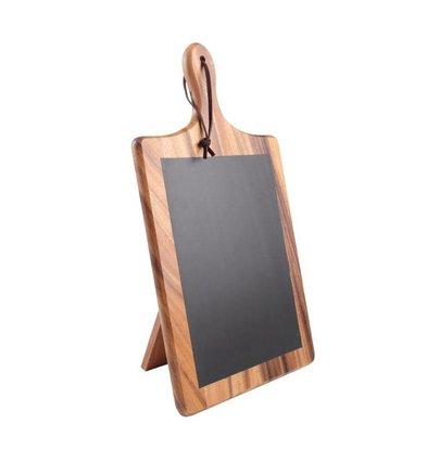 T&G Woodware Krijtbordplank met Standaard | T&G Woodware | 25x220x385(h)mm