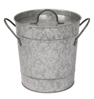 Olympia IJsemmer Gegalvaniseerd + Deksel | 3,4 Liter